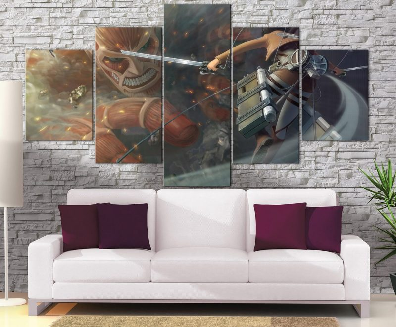 Décoration Murale L'attaque des Titans Colossal Titan