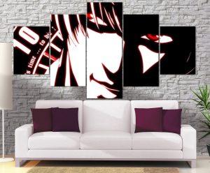 Décoration Murale Death Note Kira