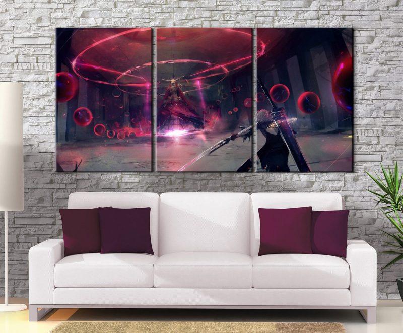 Décoration murale Nier Automata 2B Battle