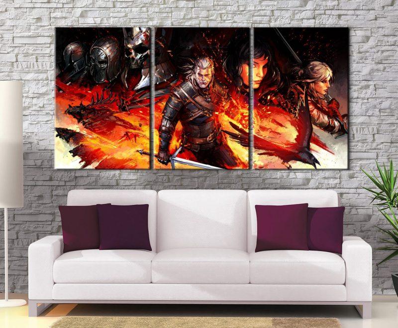 Décoration Murale The Witcher 3