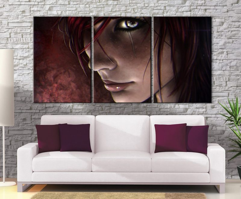 Décoration Murale The Witcher Yennefer