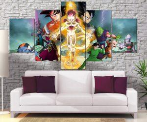 Décoration Murale Dragon Ball Super Retour de Freeza