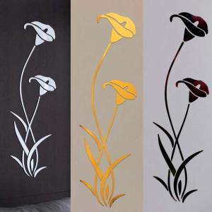 Sticker Mural Fleur moderne