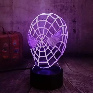 Lampe Led Spiderman