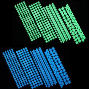Stickers décoratifs fluorescents pour chambre enfant