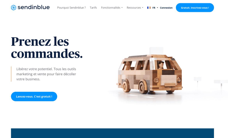 Sendinblue : le meilleur des plugins WordPress de Newsletter gratuits