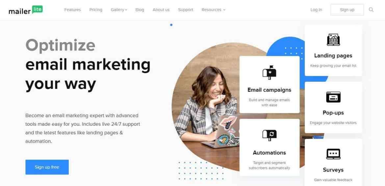 Mailerlite: Le logiciel email plus ergonomique
