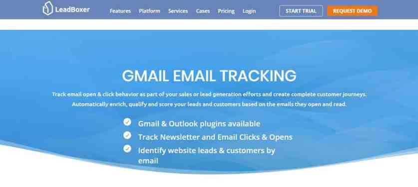 LeadBoxer : Un outil pour savoir si les mails de Gmail sont lus