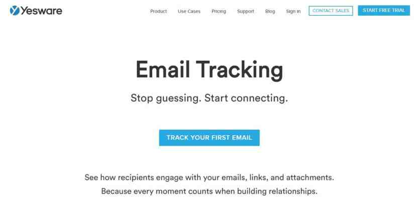 Yesware : Tracking des mails sur Gmail et Outlook