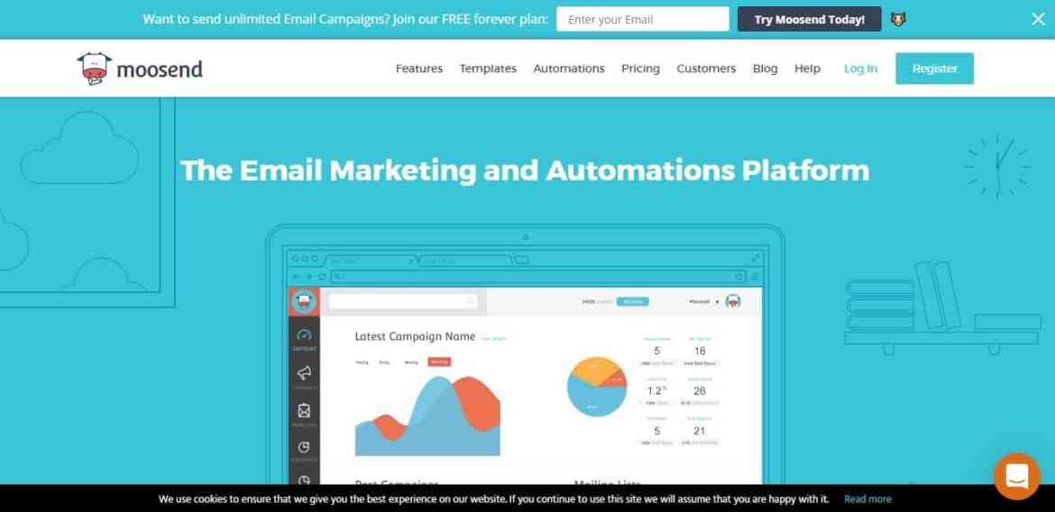 Moosend: Le marketing automation gratuit
