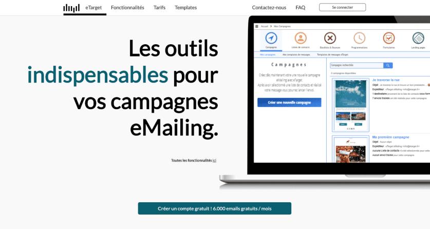 eTarget : La nouvelle solution emailing gratuite française