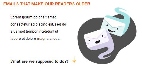 8. Articles ou histoires directement dans le mail (avec mail modulable)