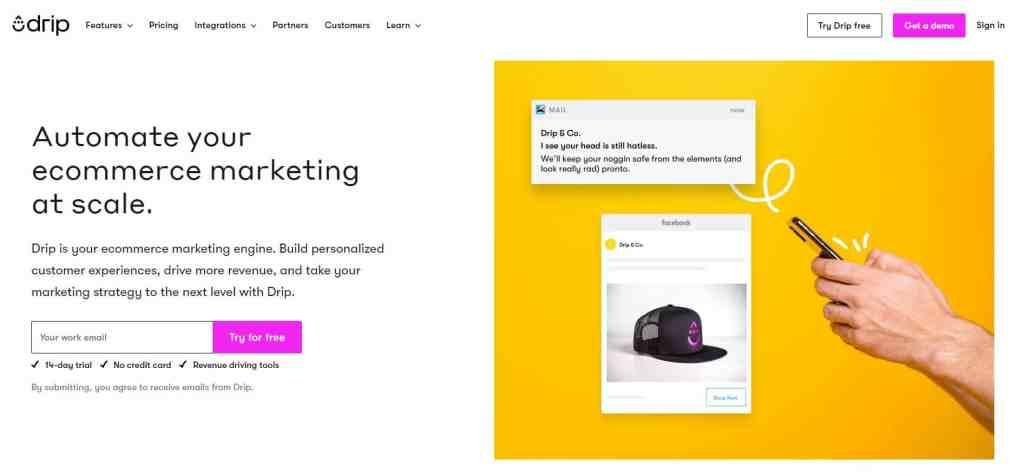 Drip : l'outil de marketing automation puissant