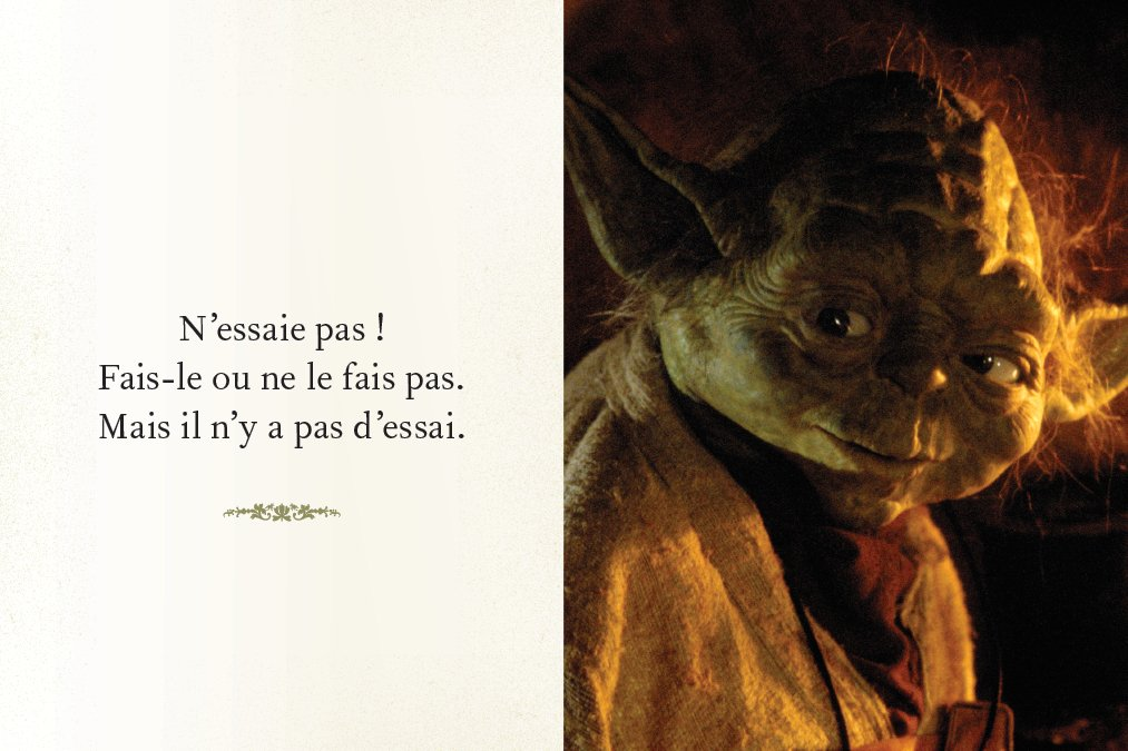 Citation de Maitre Yoda