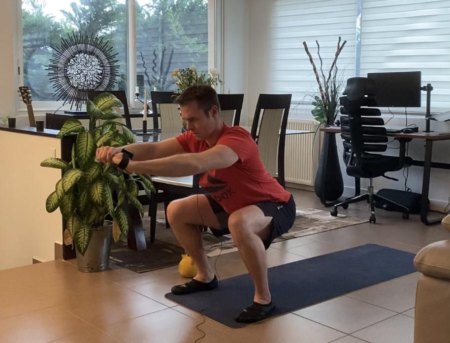 Le squat pour muscler vos cuisses et vos fessiers