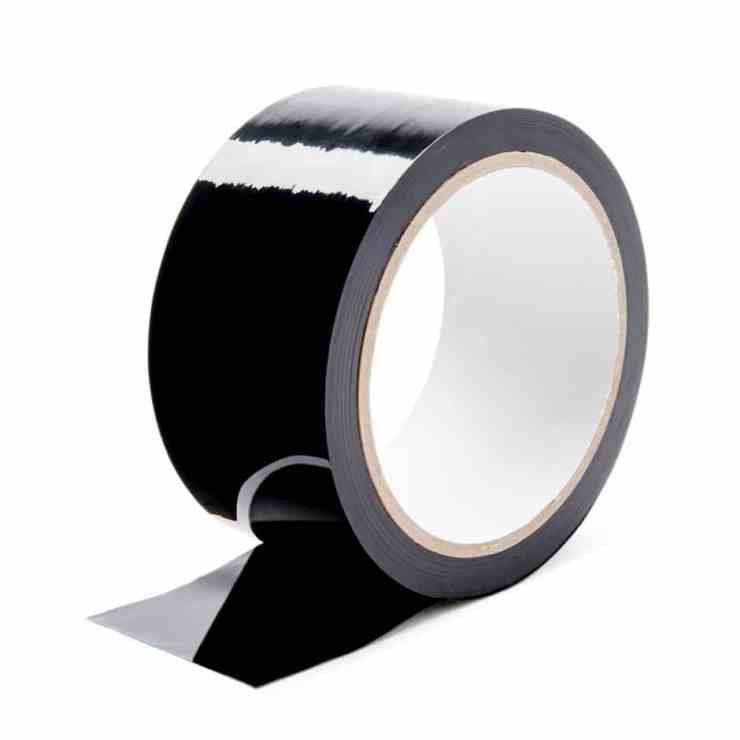 bondage tape noire