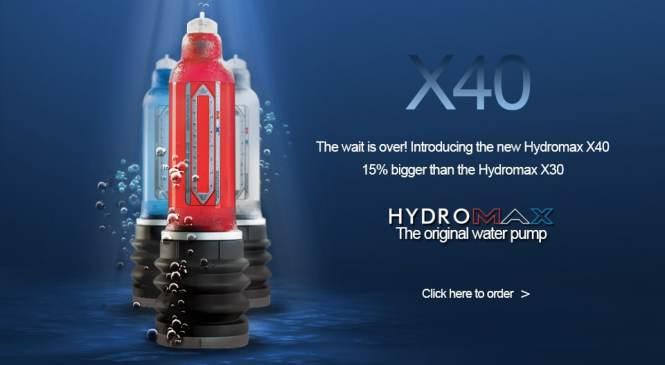 Hydromax X40 : la Pompe à penis à utiliser dans son bain