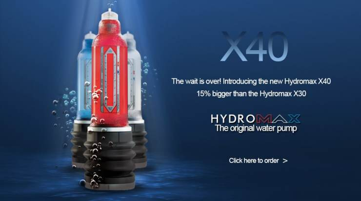 Hydromax X40