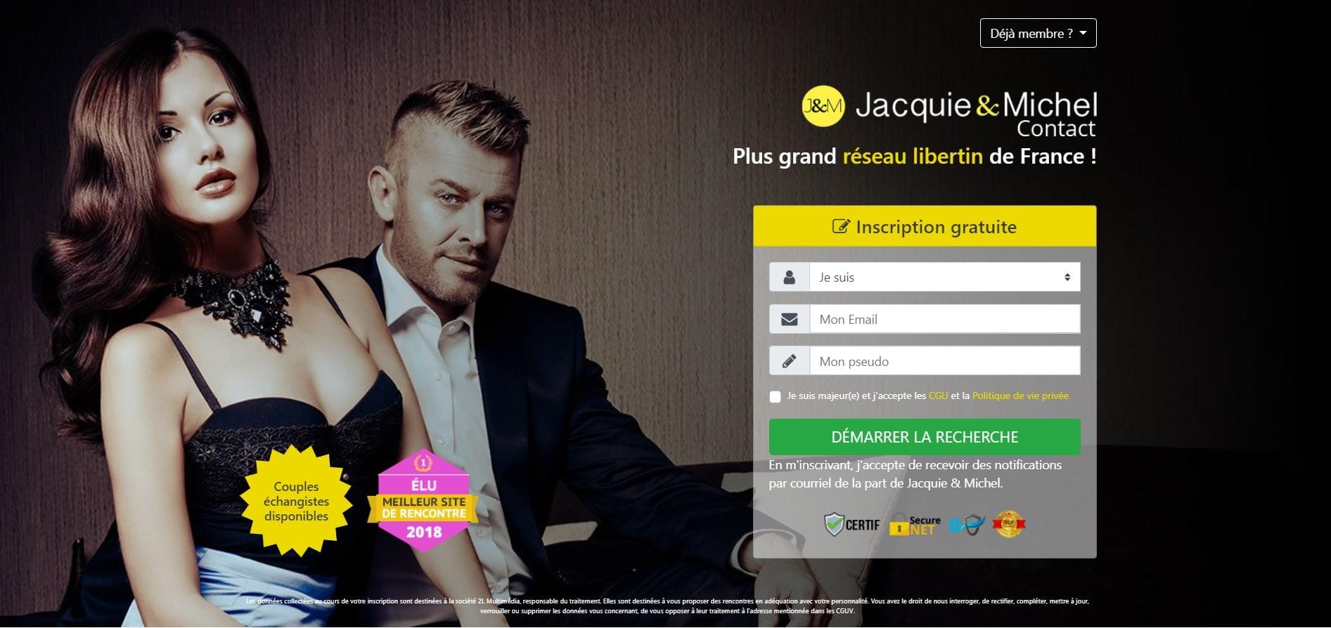JM Contact imprime écran