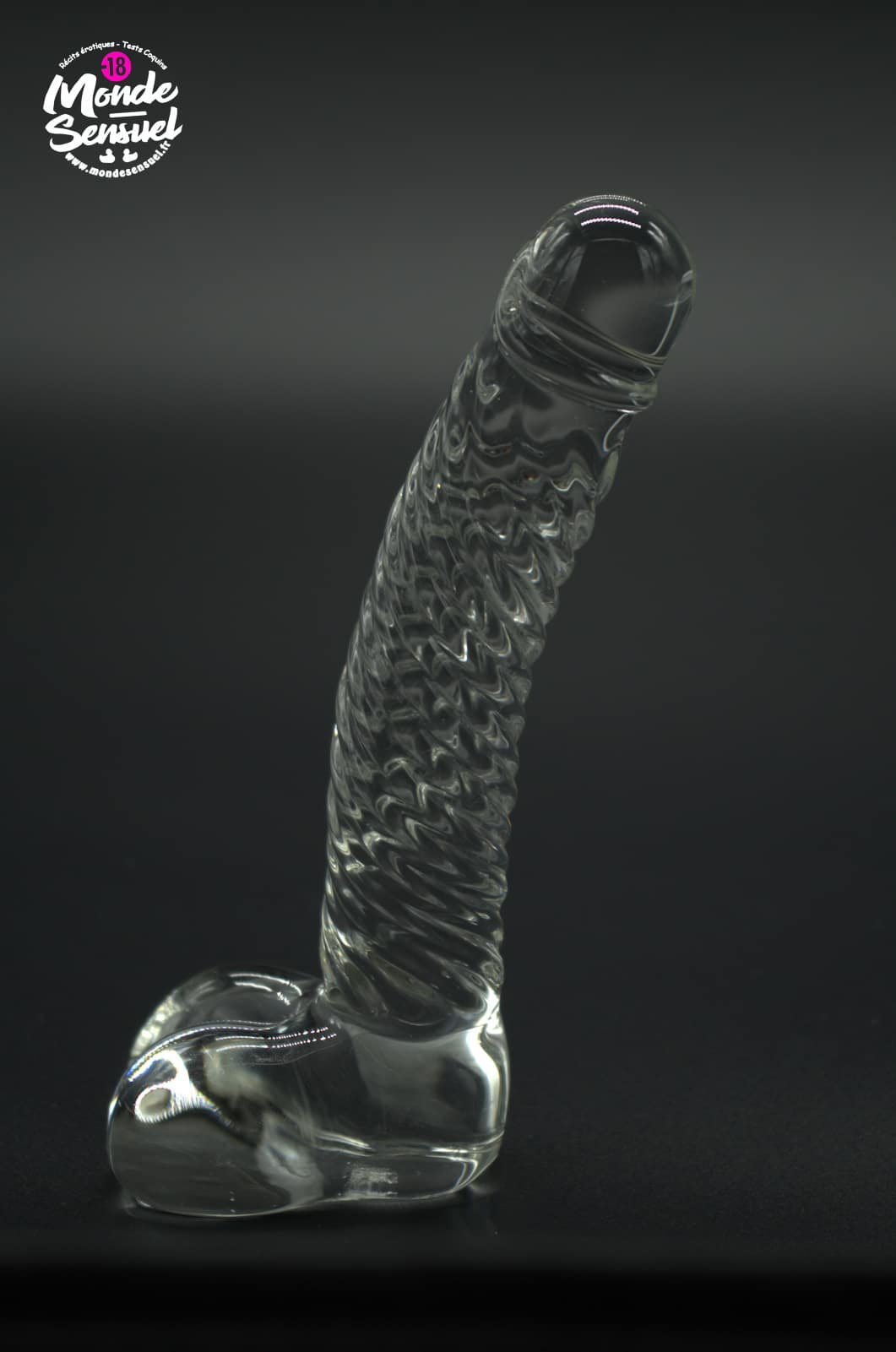 glass dildo photo