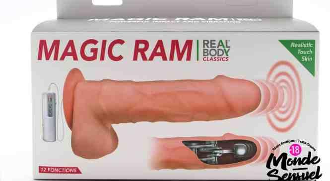 Gode Réaliste Vibrant Va-et-Vient Magic Ram
