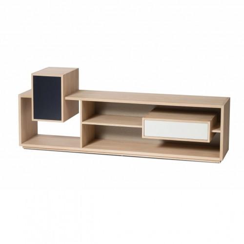 meuble tv mixage en chene drugeot manufacture fabrication 100 francaise