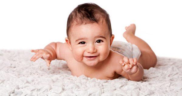 قشرة الرأس عند الطفل الرضيع