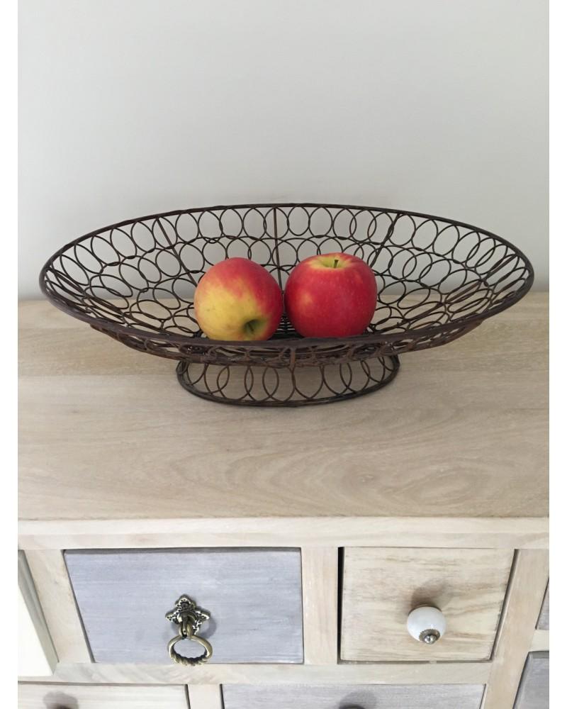 corbeille a fruits metal design