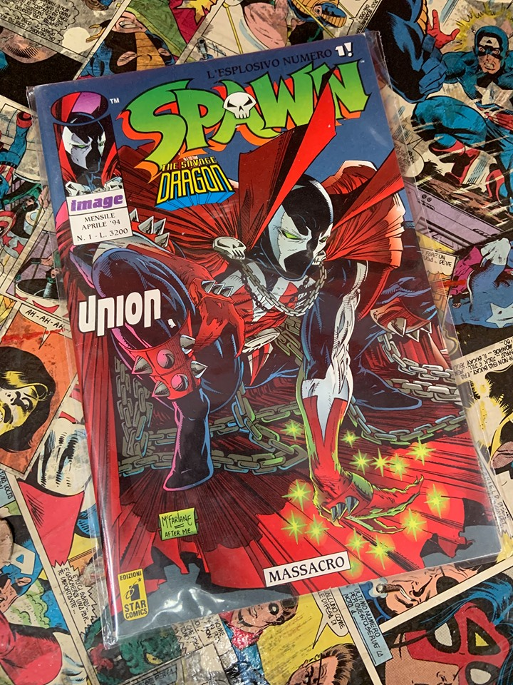 Spawn 1 Star Comics spawn todd mcfarlane
