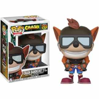 Crash Bendicoot Funko Pop Crash Bendicoot with Jet Pack