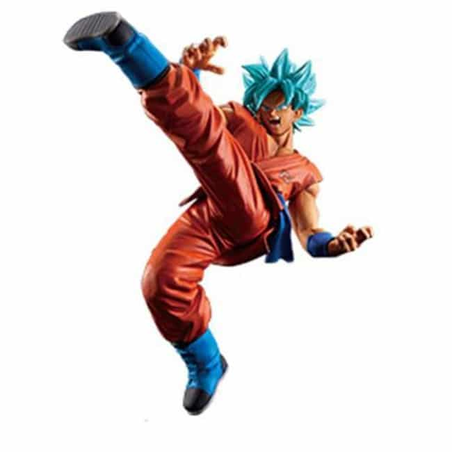 Dragonball Super Banpresto Goku Supersayan God Supersayan Fes