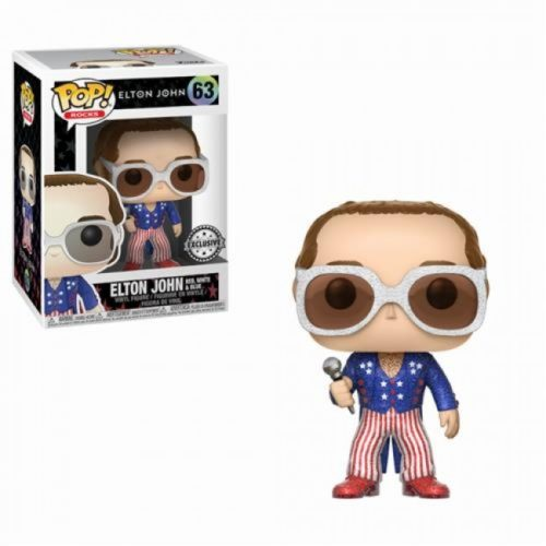 Elton John Funko Pop Elton John Red White & Blue 63