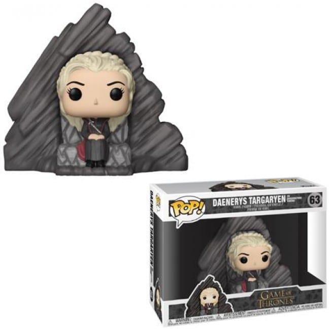 Game of Thrones Funko Pop Daenerys Targaryen on Dragonston Throne 63