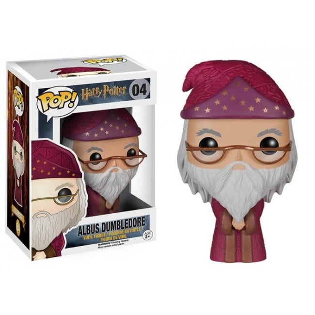 HARRY POTTER POP FUNKO VINYL FIGURE 04 ALBUS DUMBLEDORE