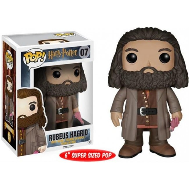 HARRY POTTER POP FUNKO VINYL FIGURE 07 RUBEUS HAGRID