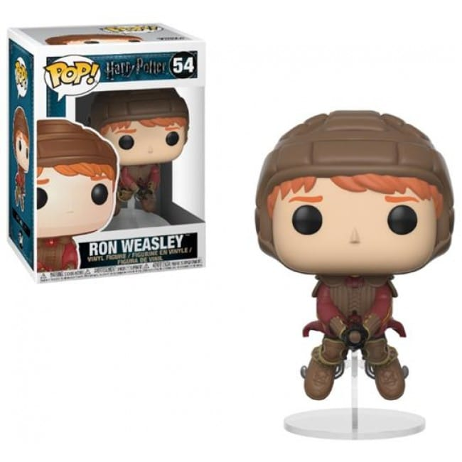 HARRY POTTER - POP FUNKO VINYL FIGURE 54 RON WEASLEY ON BROOM