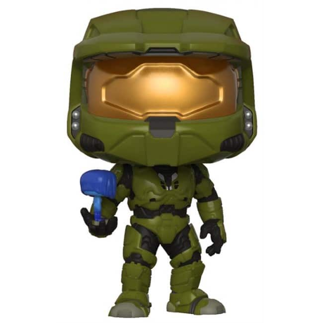 Halo Funko Pop Masterchief with Cortana 07
