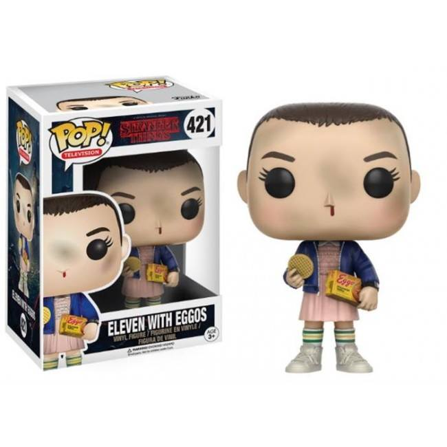 Stranger Things Funko Pop Eleven with Eggos 421