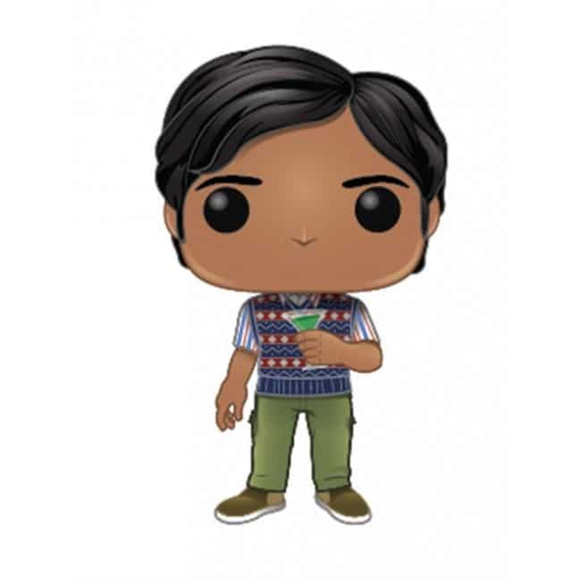 The Big Bang Funko Pop Theory Raj Koothrappali 781