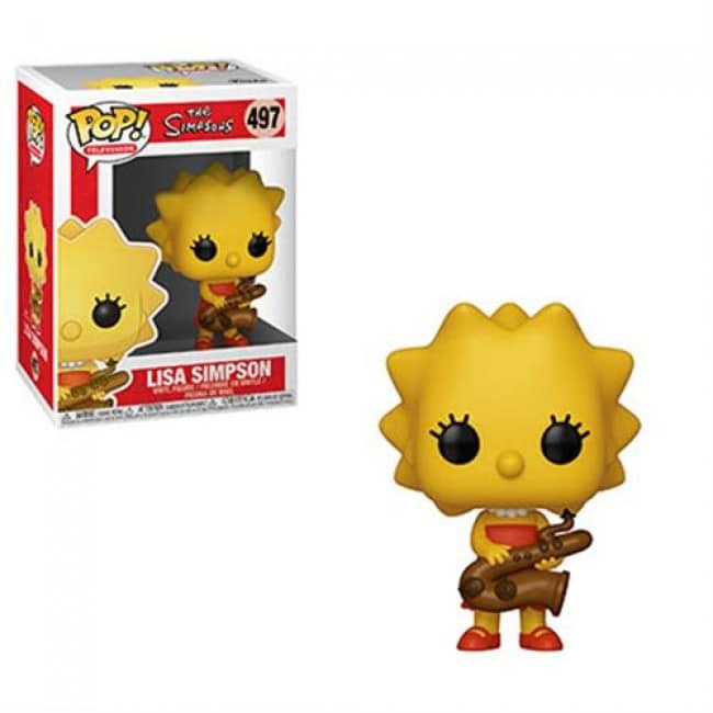 The Simpsons Funko Pop Lisa Simpson 497