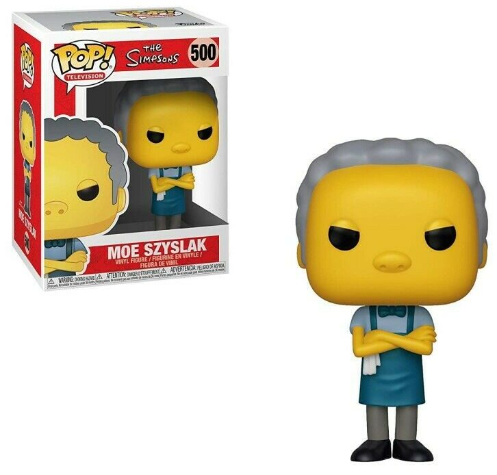 The Simpsons Funko Pop Moe Szyslak 500