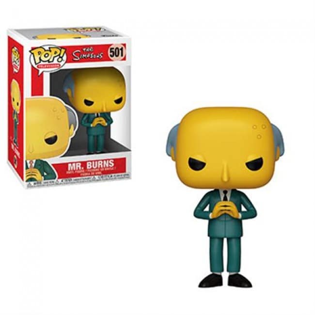 The Simpsons Funko Pop Mr. Burns 501