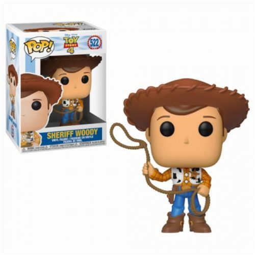 Toy Story 4 Funko Pop Sheriff Woody 522