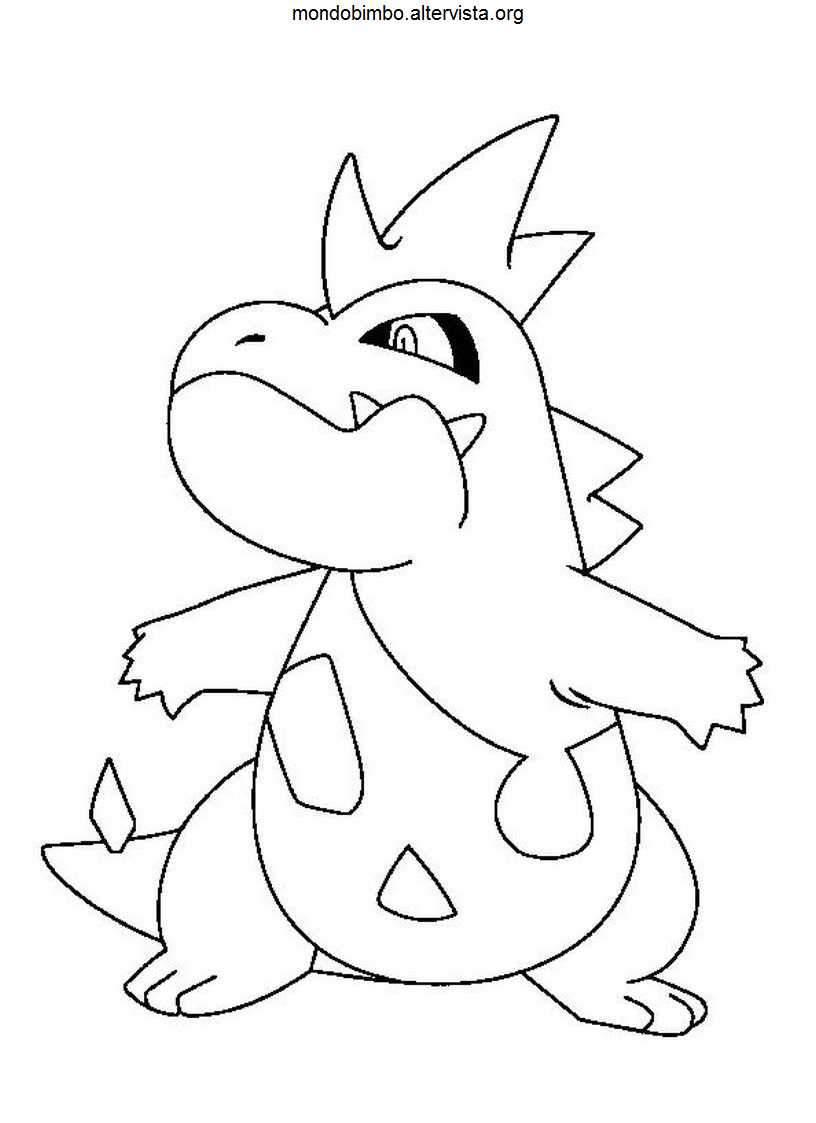 Pokemon da colorare — Mondo Bimbo