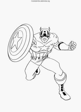 Avengers da colorare — Mondo Bimbo