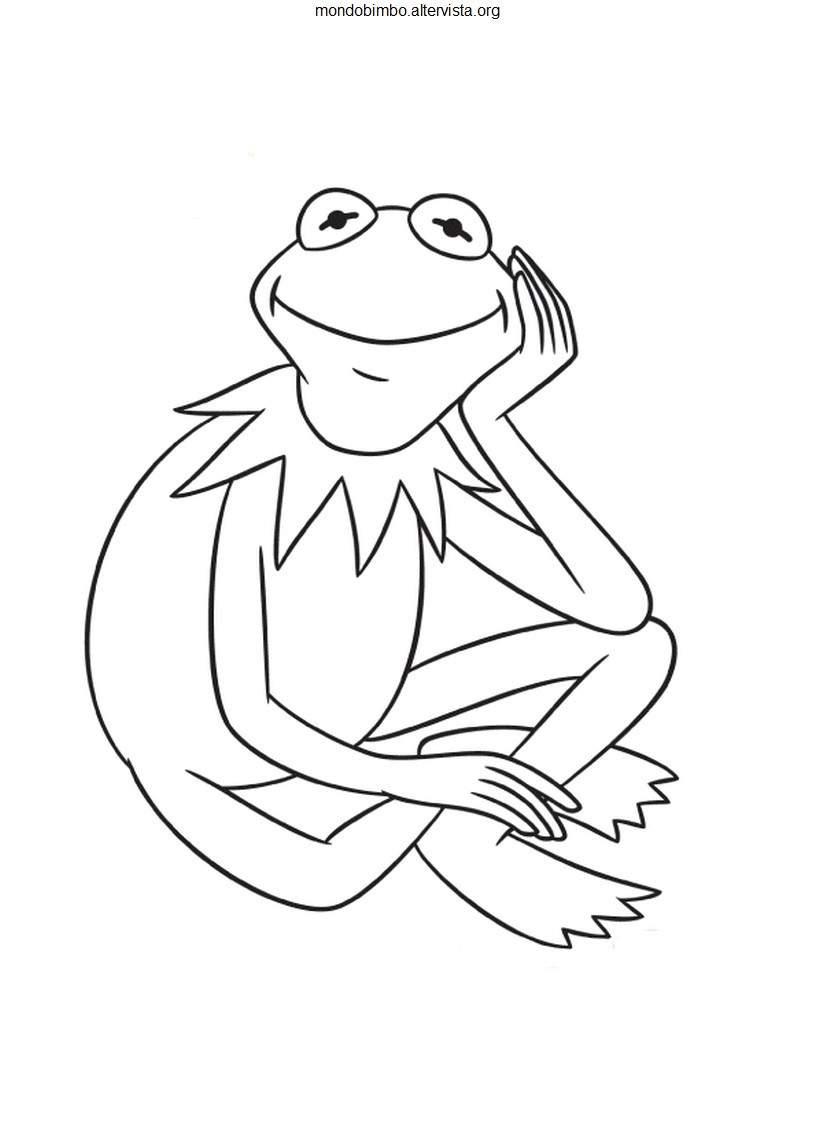 Muppets da colorare — Mondo Bimbo