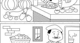 Trova le 8 differenze in questo cuoco — Mondo Bimbo