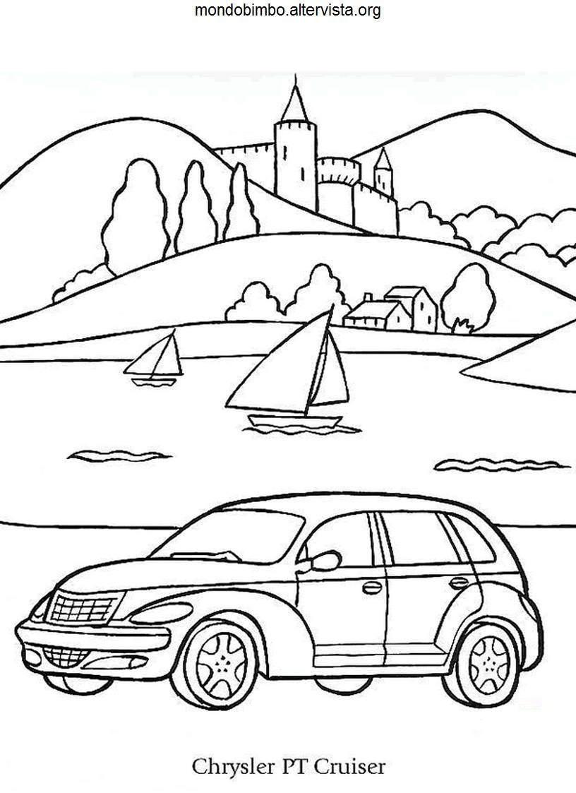 Automobili da colorare — Mondo Bimbo