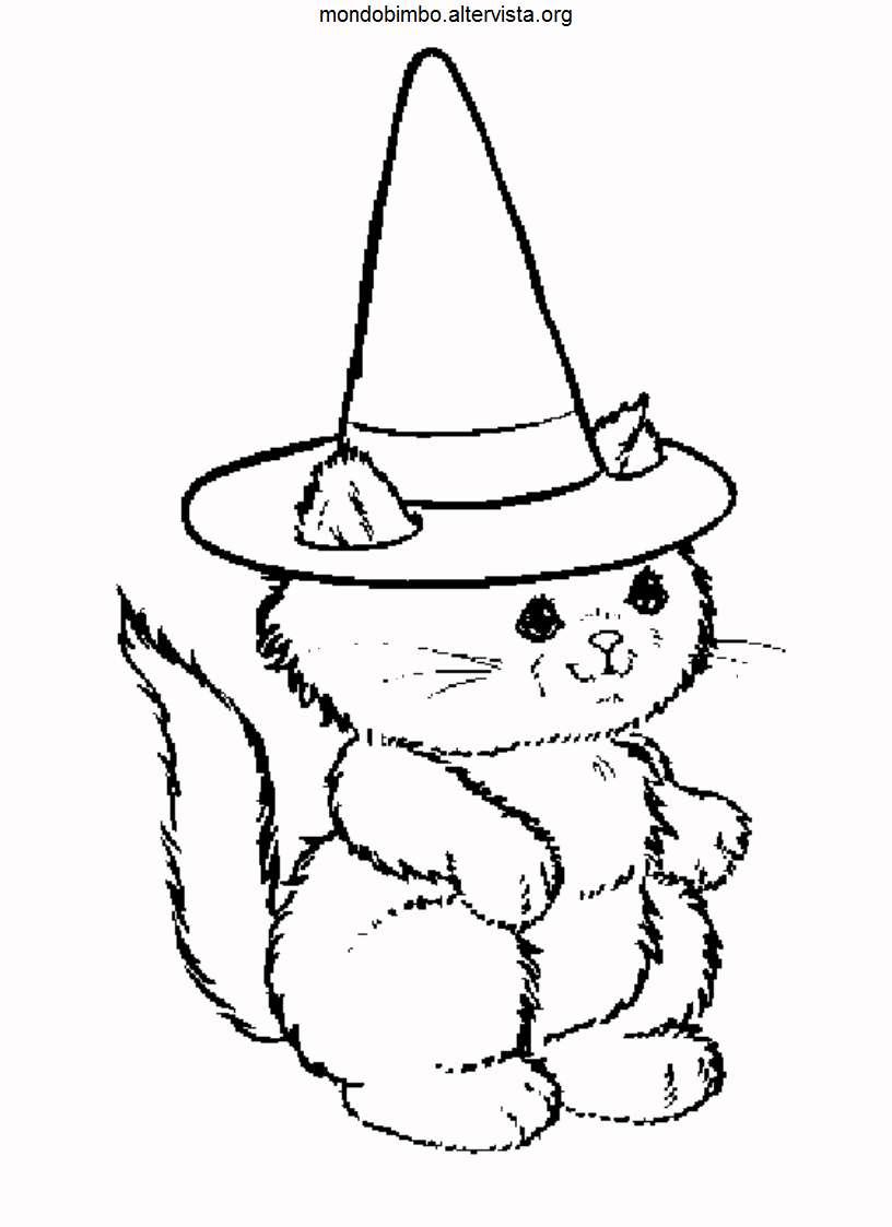 Disegni paurosi di Halloween da colorare  Mondo Bimbo