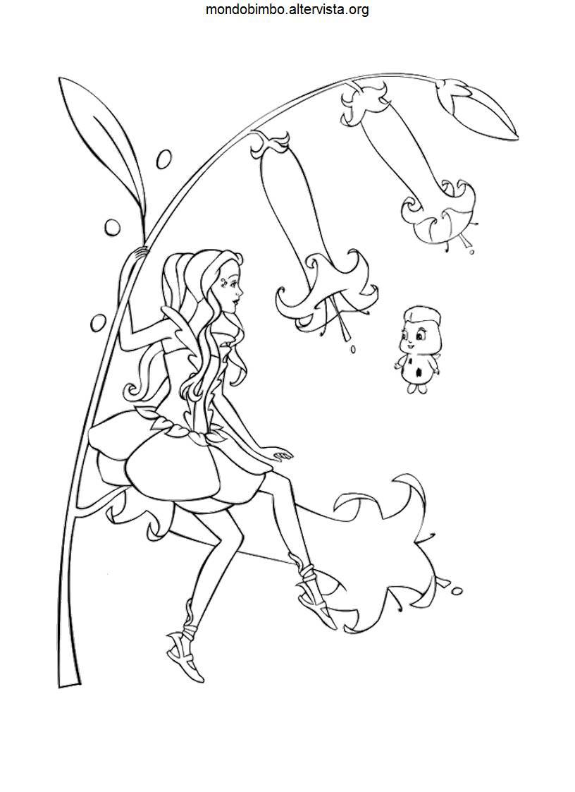 Fairytopia Mermaidia Coloring Pages